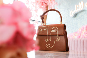 Coffee Brown Lilo Handbag