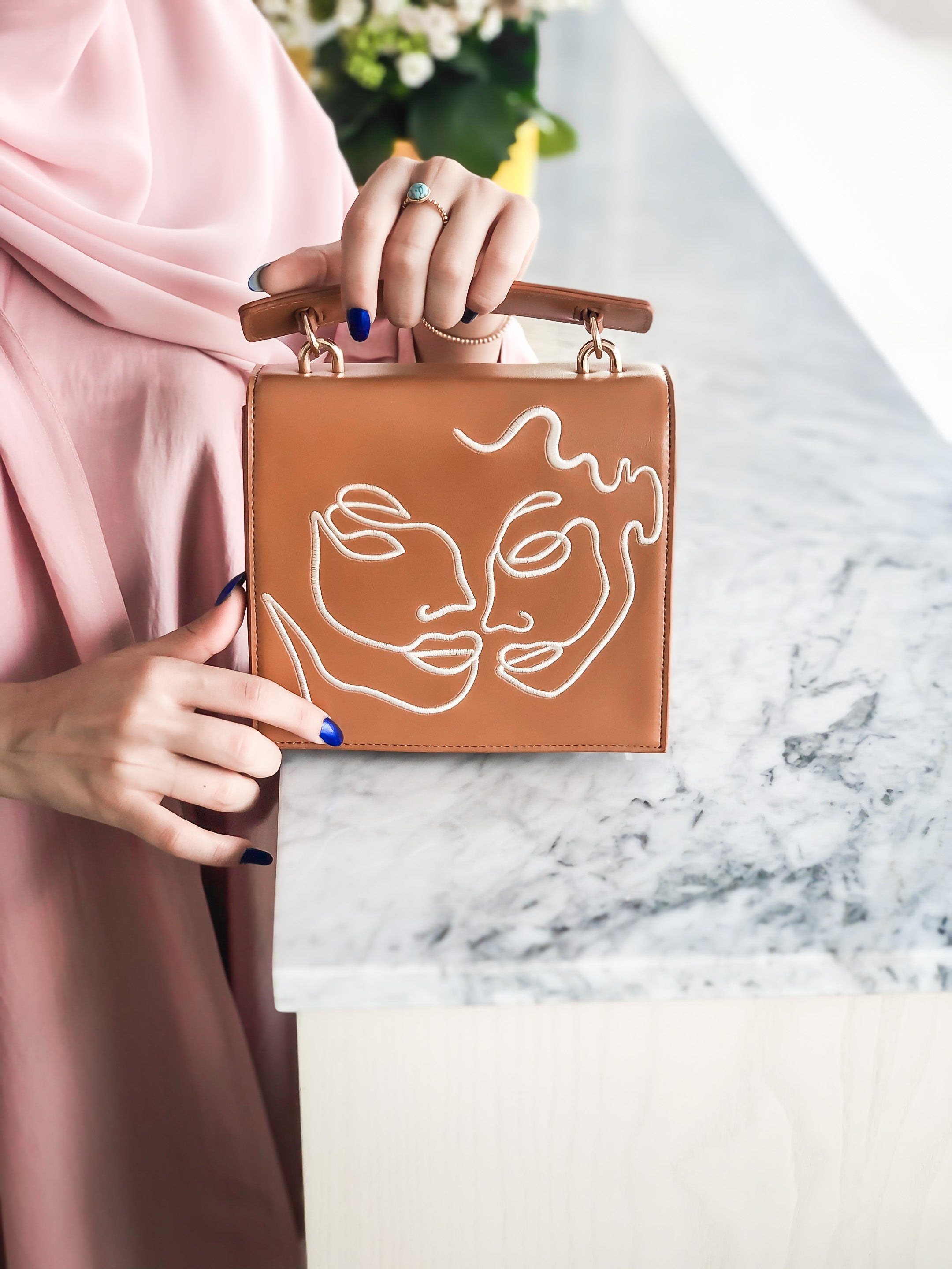 Caramel Twin Souls Bag