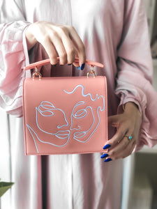 Coral Twin Souls Bag