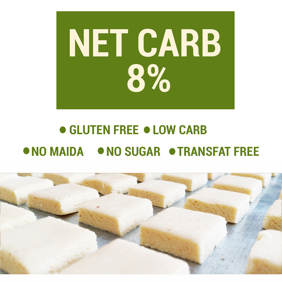Keto Coconut Barfi (Ultra Low Carb Dessert) Gift Pack (pack of three) - 200g