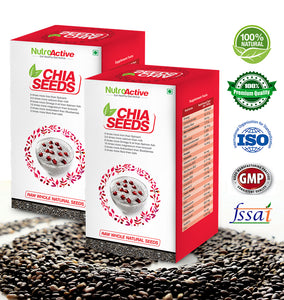 Chia Seeds Salvia Hispanica Seeds for Weight Loss - 250gm