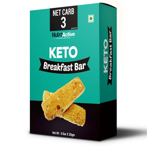 Keto Breakfast Bar | Zero Sugar and Gluten Free - 180gm