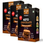 Keto Chocolate Hazelnut Chewy Cookies- Pack of three | Zero Sugar | Gluten Free - 200gm