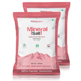 Mineral Salt Himalayan Pink Salt Fine Grain (0.5-1mm) 200 gm- Pack Of 2