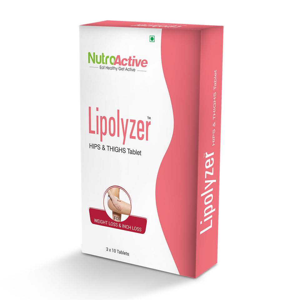 Lipolyzer Hips and Thighs Tablet for Weight Loss