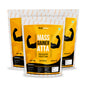 Mass Gainer Atta | High Protein Low Carb | Healthy Weight Gain | (Pack of Three) -1Kg