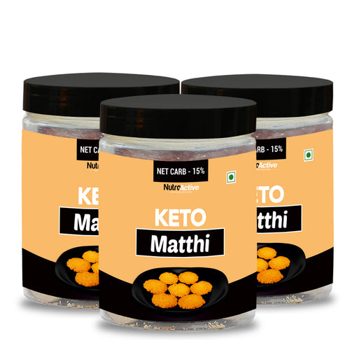 Keto Matthi Extremely Low Carb Snacks- 175g