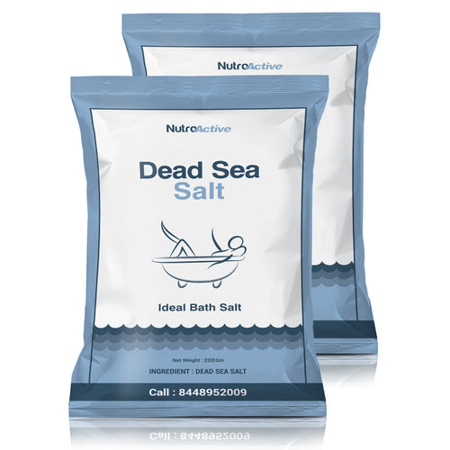 Dead Sea Salt | Pack of 2 | 200g