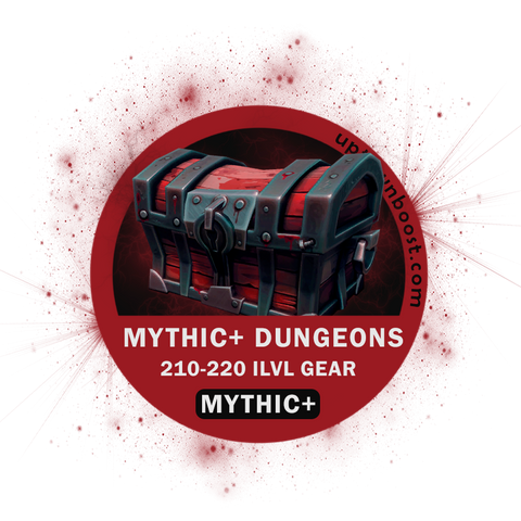 Mythic+ Dungeon 10-15 level Boost Run