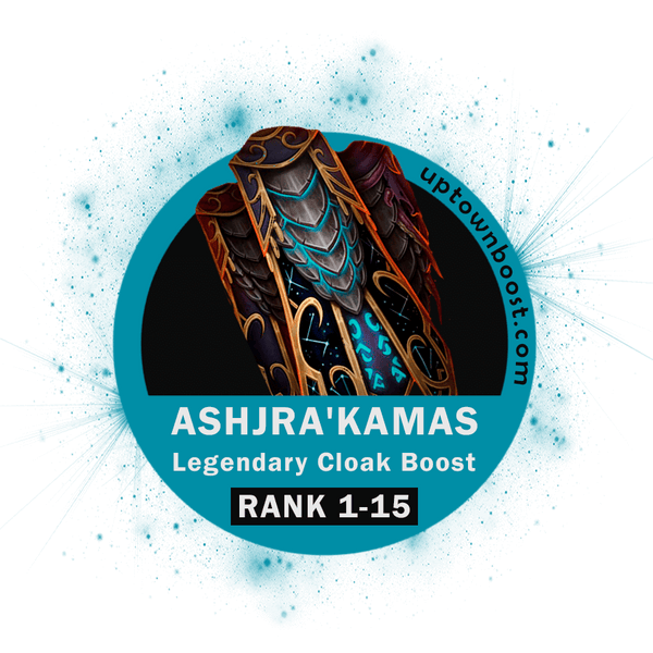 Buy Ashjra'kamas Legendary Cloak Rank lvl Boost Carry - UpTownBoost.com