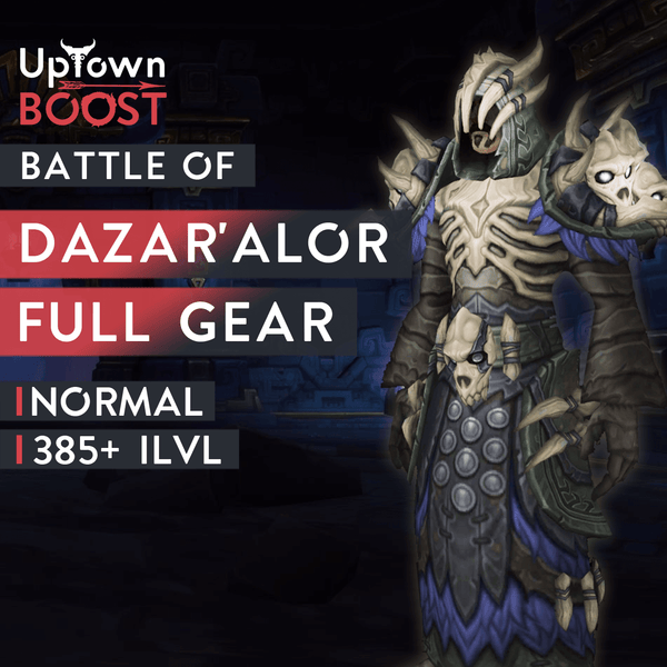 Battle of Dazar'Alor NORMAL Full Gear Boost