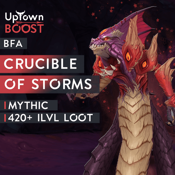 Crucible of Storms MYTHIC Boost