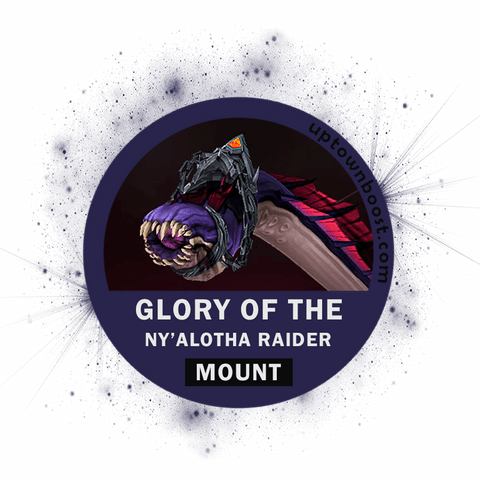 Buy Glory of the Ny'alotha Raider - Wriggling Parasite Carry - UpTownBoost.com