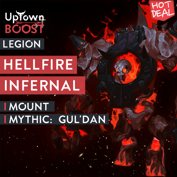 Hellfire Infernal Mount - Gul'dan Mythic