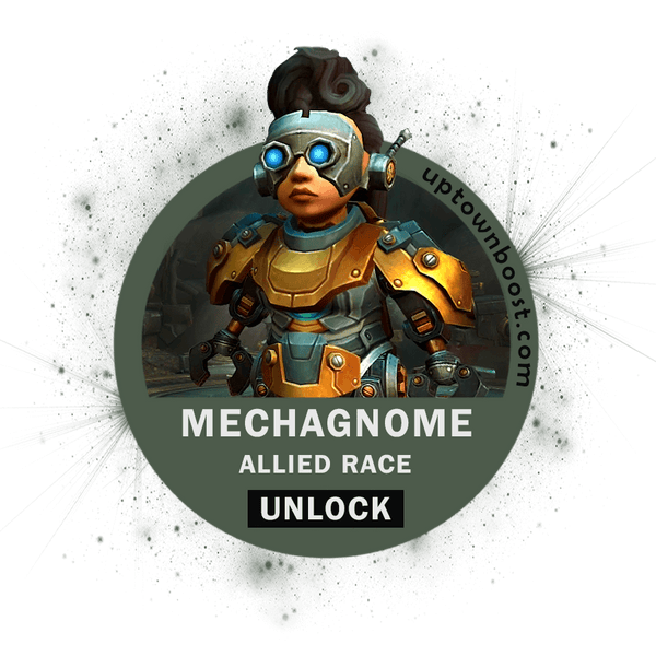 Buy Mechagnome Allied Race Unlock Carry - UpTownBoost.com