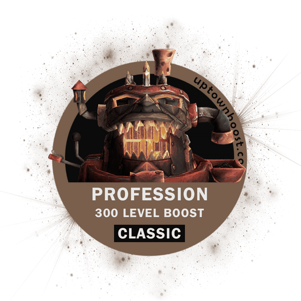 Buy WoW Classic Professions Leveling Boost Carry - UpTownBoost.com