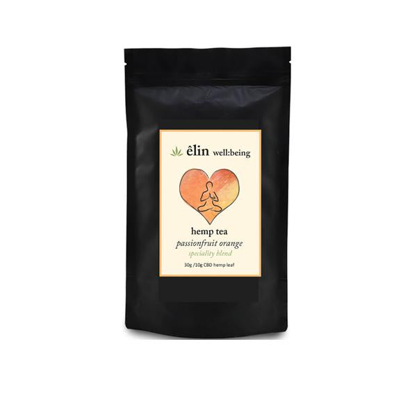Êlin Well:being 10mg CBD Hemp Tea 30g - Passionfruit Orange