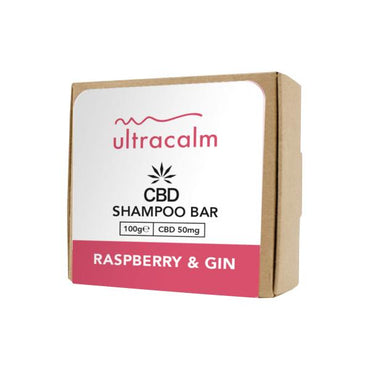 Ultracalm 50mg CBD Shampoo Bar 100g