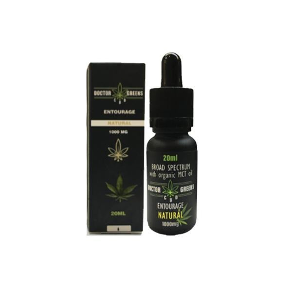 Doctor Green's CBD Drops Tinctures 1000mg 20ml - CBD MEADOWS - Doctor Green's