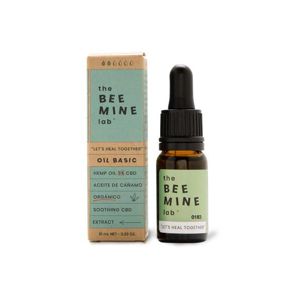 The Beemine Lab 3% 300mg CBD Oil Forte+ 10ml