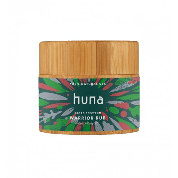 Huna Labs 400mg CBD 60ml Warrior Rub