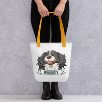Whiskey Bear tote bag