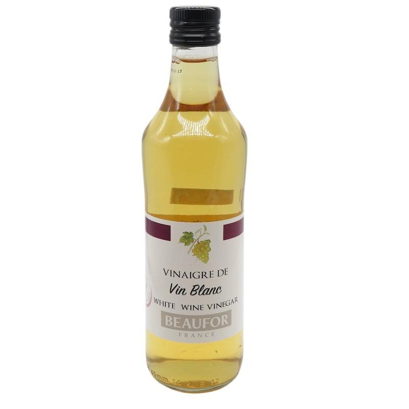 Beaufor White Wine Vinegar 500ml