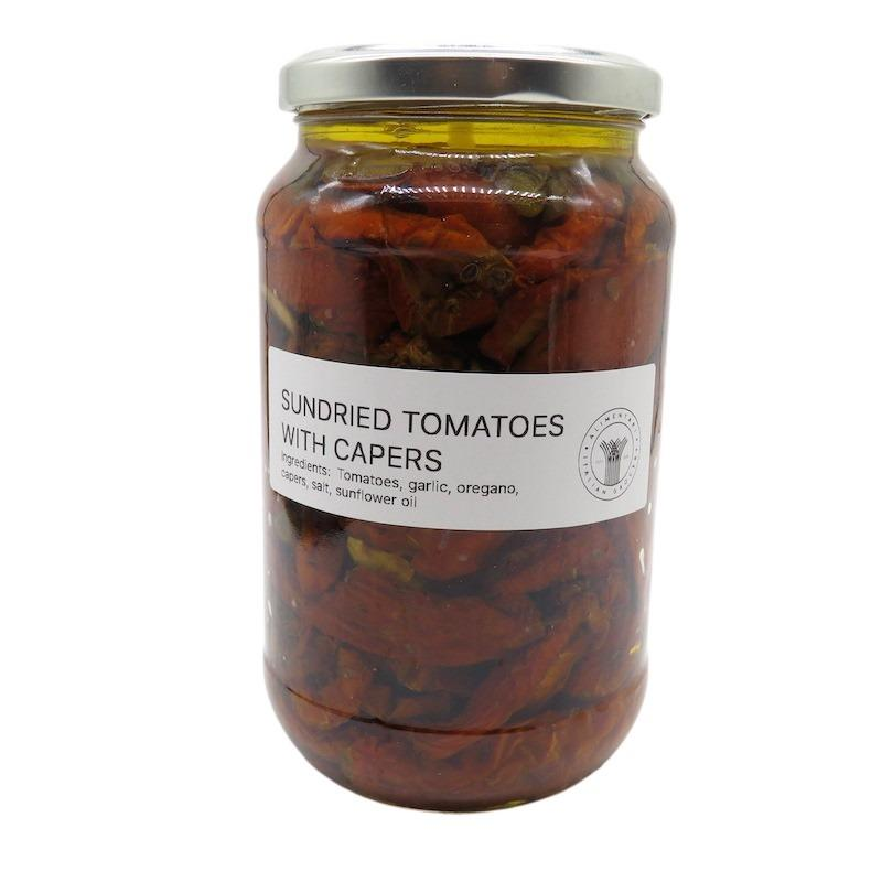 Artisan Sundried Tomatoes with Capers