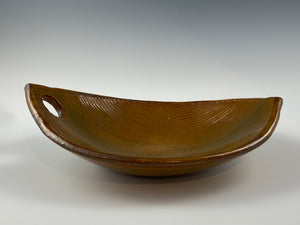 Textured Nutmeg Bowl