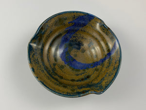 Blue and Gold Small Bowl