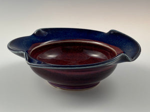 Small Copper Red Bowl