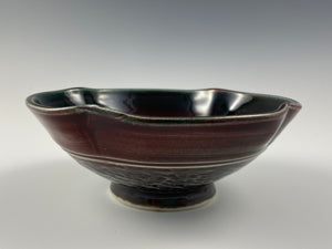 Small Plum Colored Bowl