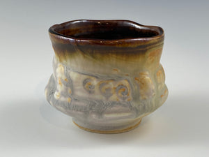 Earthy Sculpted Tea Bowl
