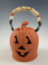 Load image into Gallery viewer, Terracotta Jack O Lantern