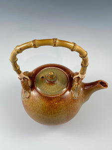 Nutmeg Tea Pot and Five Cups