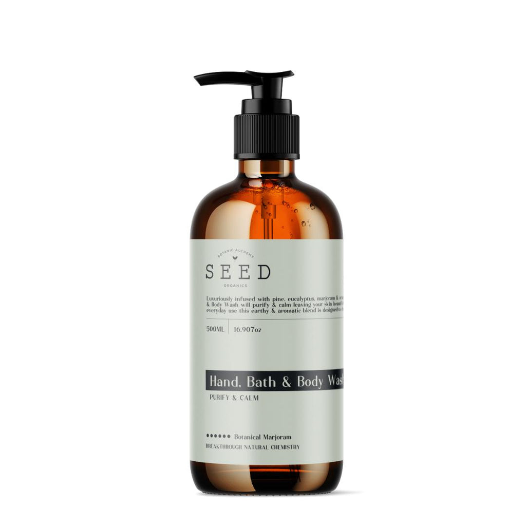 Hand, Bath & Body Wash-Seed Organics-All Natural Cleaning Products-Made in Australia