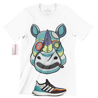 R267 adidas ultra boost dna multi color T-Shirt