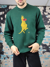Load image into Gallery viewer, Fighting Kangaroo Sweater - HySport 100% Wool