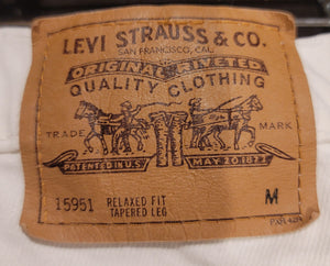 White Orange Tab Levi's 950 sz 14M