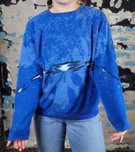 Load image into Gallery viewer, Funk'd Up Sweatshirt - OOAK - sz L cropped