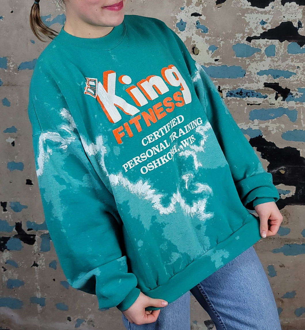 King Fitness Crewneck - Funk'd UP - sz XL+