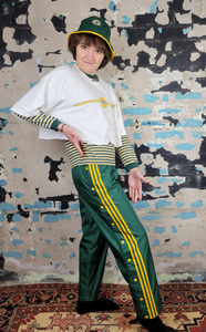 Packers + Adidas Tear-Away Pants
