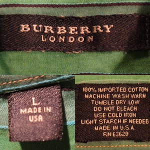 Burberry Button-down Overdyed + Discharge Dyed