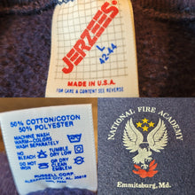 Load image into Gallery viewer, National Fire Academy - SS Sweatshirt - Jerzees - Made in the USA - sz M