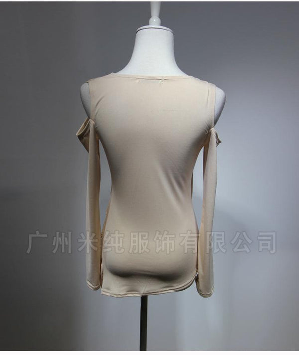 European And American Fashion Sexy Nightclub Skirt New High Stretch Slim Ice Silk Women T-shirt Wholesale