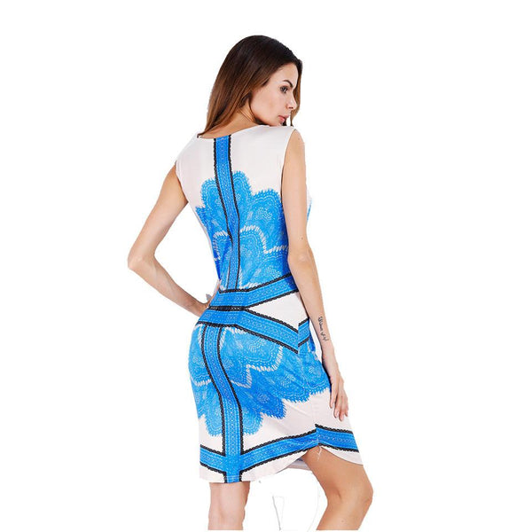 Cross-border Women New Product Bohemia New Hot Print Jumpsuit Skirt Female Foreign List