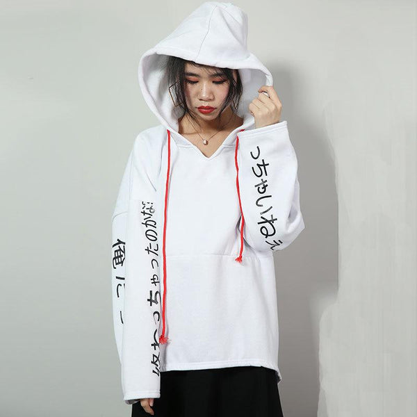 Cross-border European And American New Women Autumn And Winter Clothing New Trendy Hooded Sweater Women