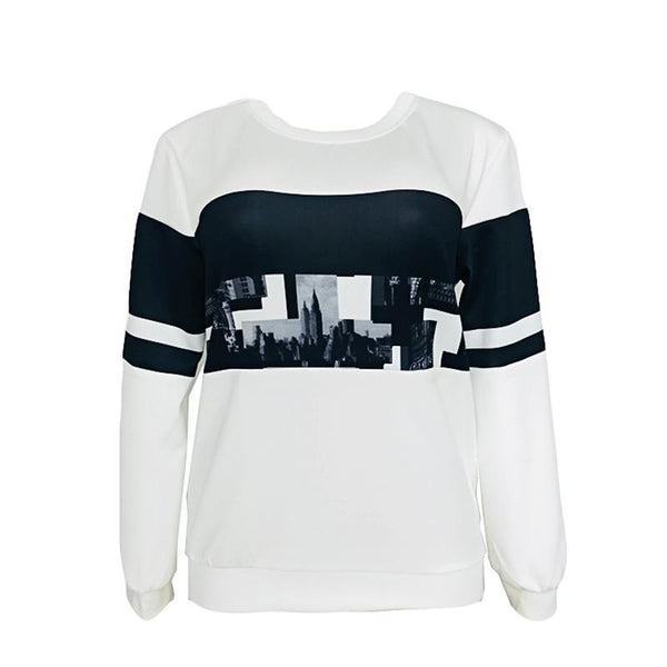 Cross-border European And American Women Personality New Sweater Long-sleeved Women Top Autumn And Winter