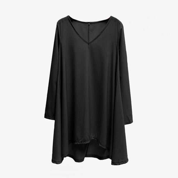 Solid Color Bottoming Shirt Women Long-sleeved Autumn And Winter Wild Bat Shirt Top T-shirt