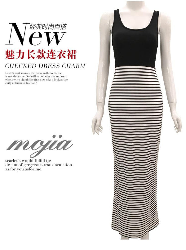 European And American Women New Sexy Tight-fitting High-stretch Print Slim-fit Hip Dress